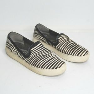 {Sam Edelman} Zebra Print Dyed Calf Hair Becker 6